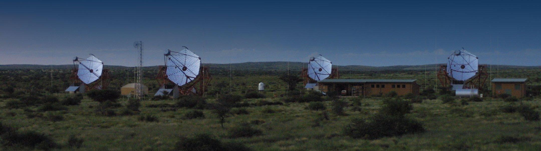 H.E.S.S. telescopes