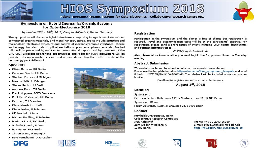 Flyer Symposium 2018